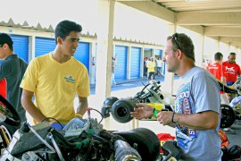 di Mauro and mentor Rubens Barrichello