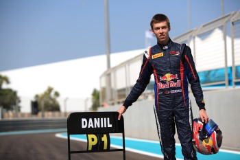 Daniil Kvyat polished off 2013 GP3 Championship