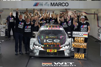 Wittmann's title was also the first for his team, RMG